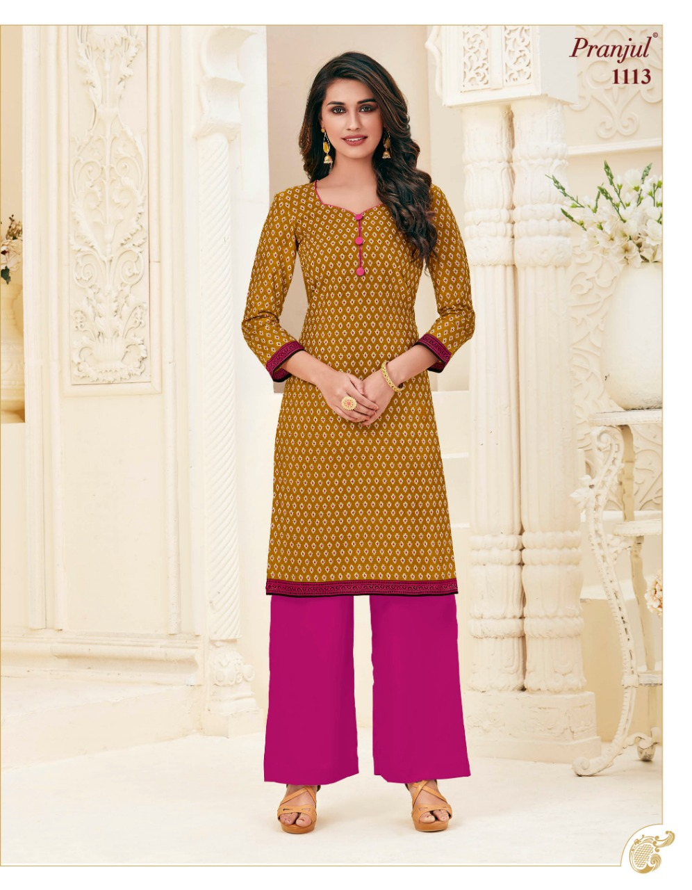 Pranjul Pari Vol 1 Kurti Wholesale Catalog 20 Pcs 15 - Pranjul Pari Vol 1 Kurti Wholesale Catalog 20 Pcs