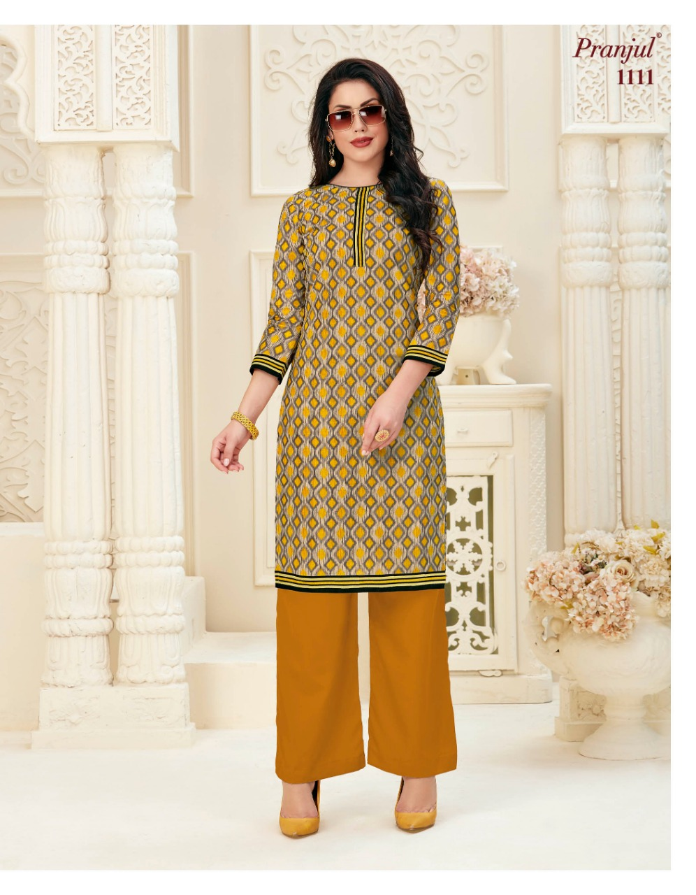 Pranjul Pari Vol 1 Kurti Wholesale Catalog 20 Pcs 17 - Pranjul Pari Vol 1 Kurti Wholesale Catalog 20 Pcs