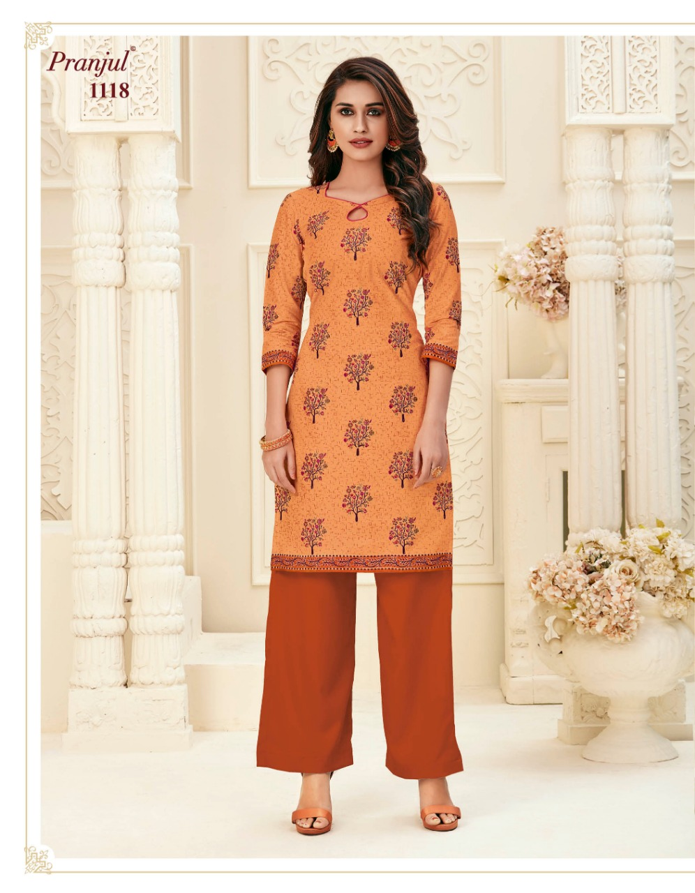 Pranjul Pari Vol 1 Kurti Wholesale Catalog 20 Pcs 22 - Pranjul Pari Vol 1 Kurti Wholesale Catalog 20 Pcs