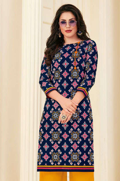 Pranjul Pari Vol 1 Kurti Wholesale Catalog 20 Pcs