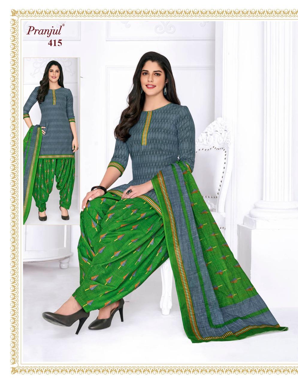 Pranjul Priyanka Vol 4 A Readymade Suit Wholesale Catalog 15 Pcs 12 - Pranjul Priyanka Vol 4 A Readymade Suit Wholesale Catalog 15 Pcs