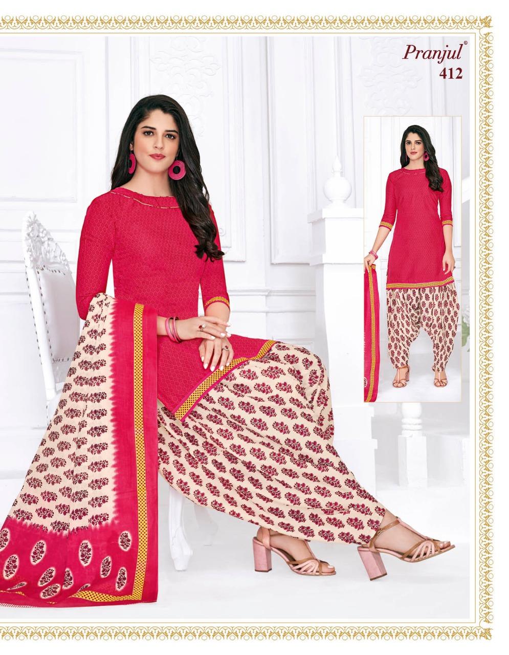 Pranjul Priyanka Vol 4 A Readymade Suit Wholesale Catalog 15 Pcs 16 - Pranjul Priyanka Vol 4 A Readymade Suit Wholesale Catalog 15 Pcs
