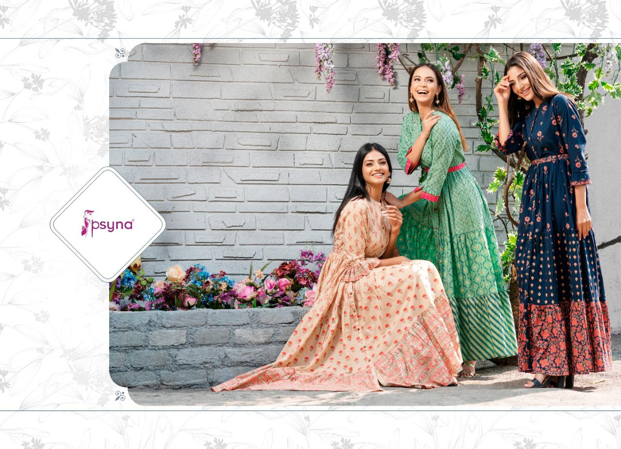 Psyna Phool Vol 3 Kurti Wholesale Catalog 7 Pcs 1 - Psyna Phool Vol 3 Kurti Wholesale Catalog 7 Pcs