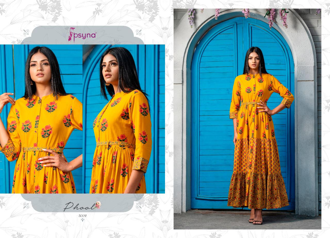 Psyna Phool Vol 3 Kurti Wholesale Catalog 7 Pcs 10 - Psyna Phool Vol 3 Kurti Wholesale Catalog 7 Pcs