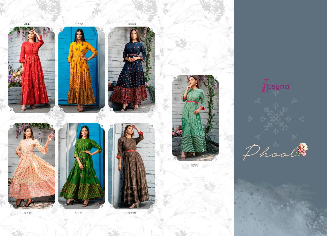 Psyna Phool Vol 3 Kurti Wholesale Catalog 7 Pcs 11 - Psyna Phool Vol 3 Kurti Wholesale Catalog 7 Pcs