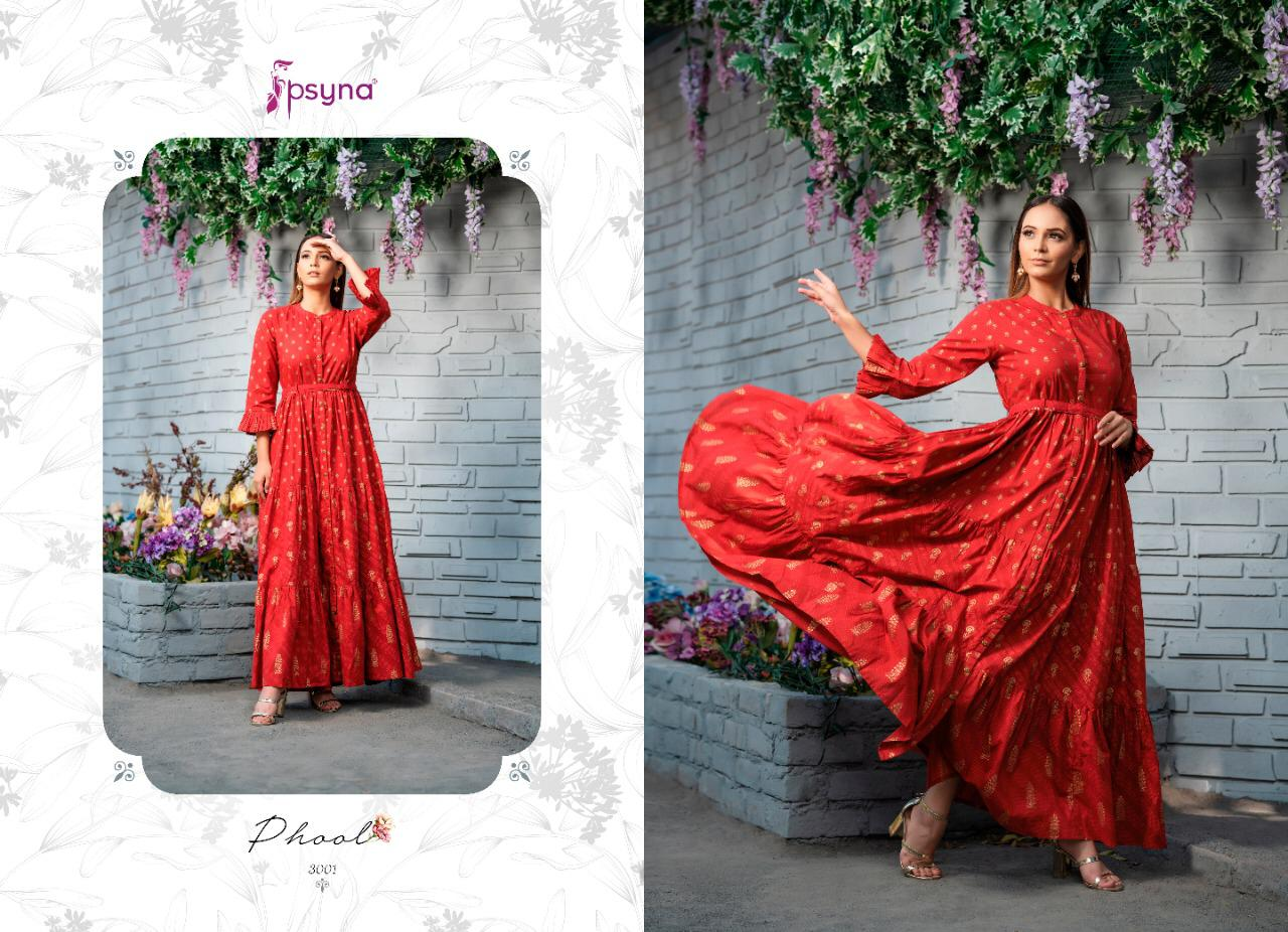 Psyna Phool Vol 3 Kurti Wholesale Catalog 7 Pcs 2 - Psyna Phool Vol 3 Kurti Wholesale Catalog 7 Pcs