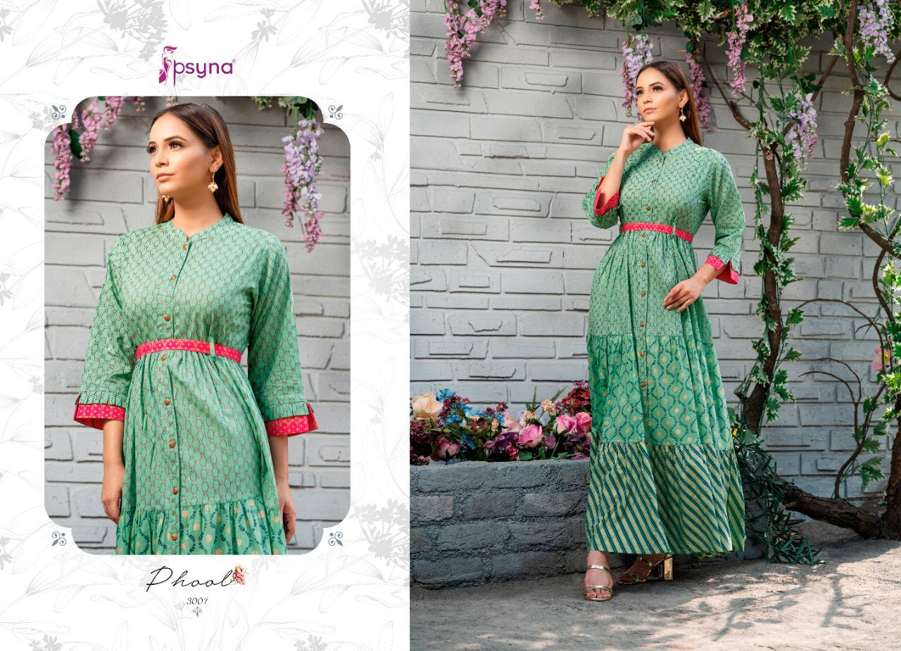 Psyna Phool Vol 3 Kurti Wholesale Catalog 7 Pcs 5 - Psyna Phool Vol 3 Kurti Wholesale Catalog 7 Pcs