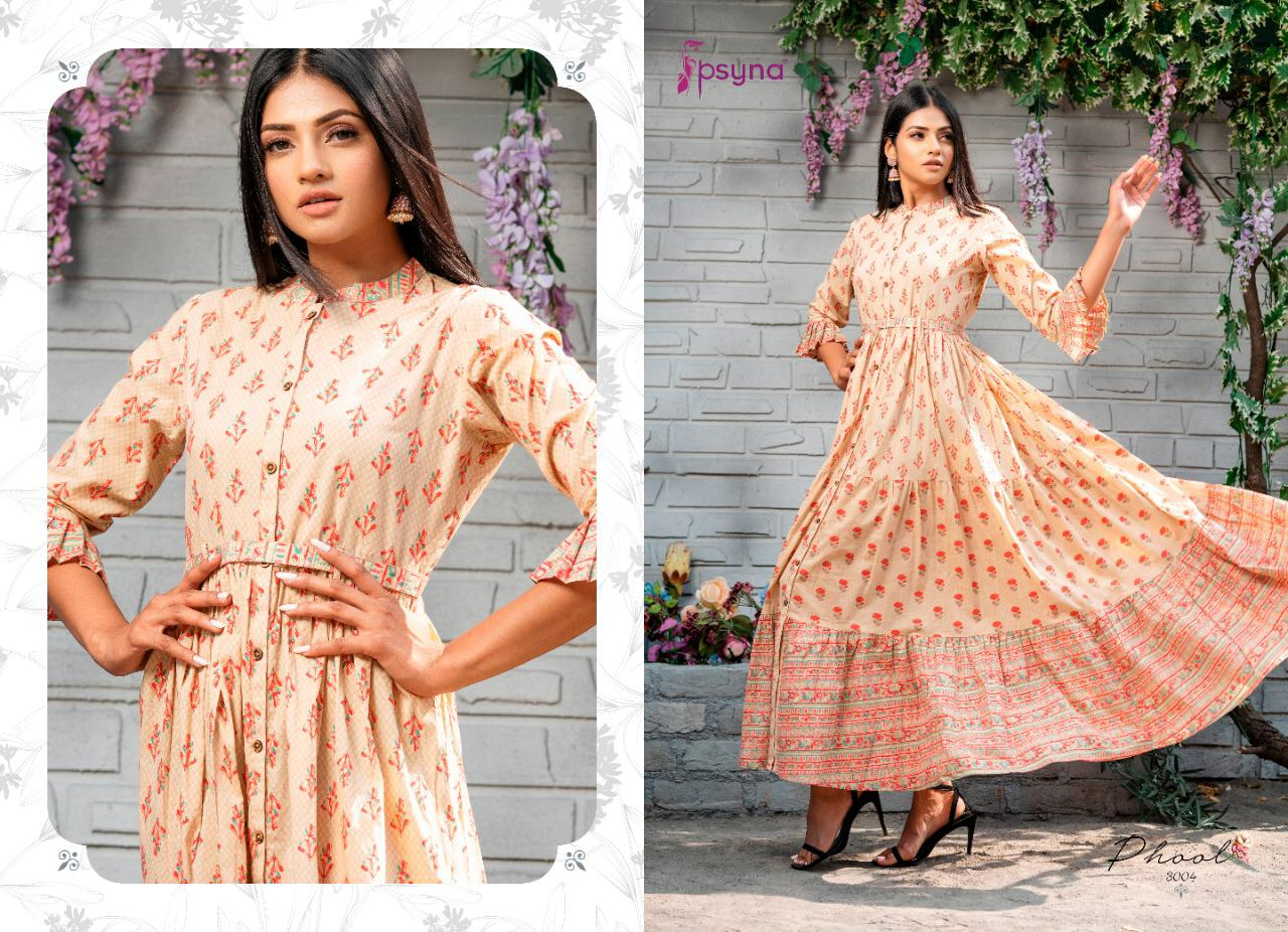 Psyna Phool Vol 3 Kurti Wholesale Catalog 7 Pcs 7 - Psyna Phool Vol 3 Kurti Wholesale Catalog 7 Pcs
