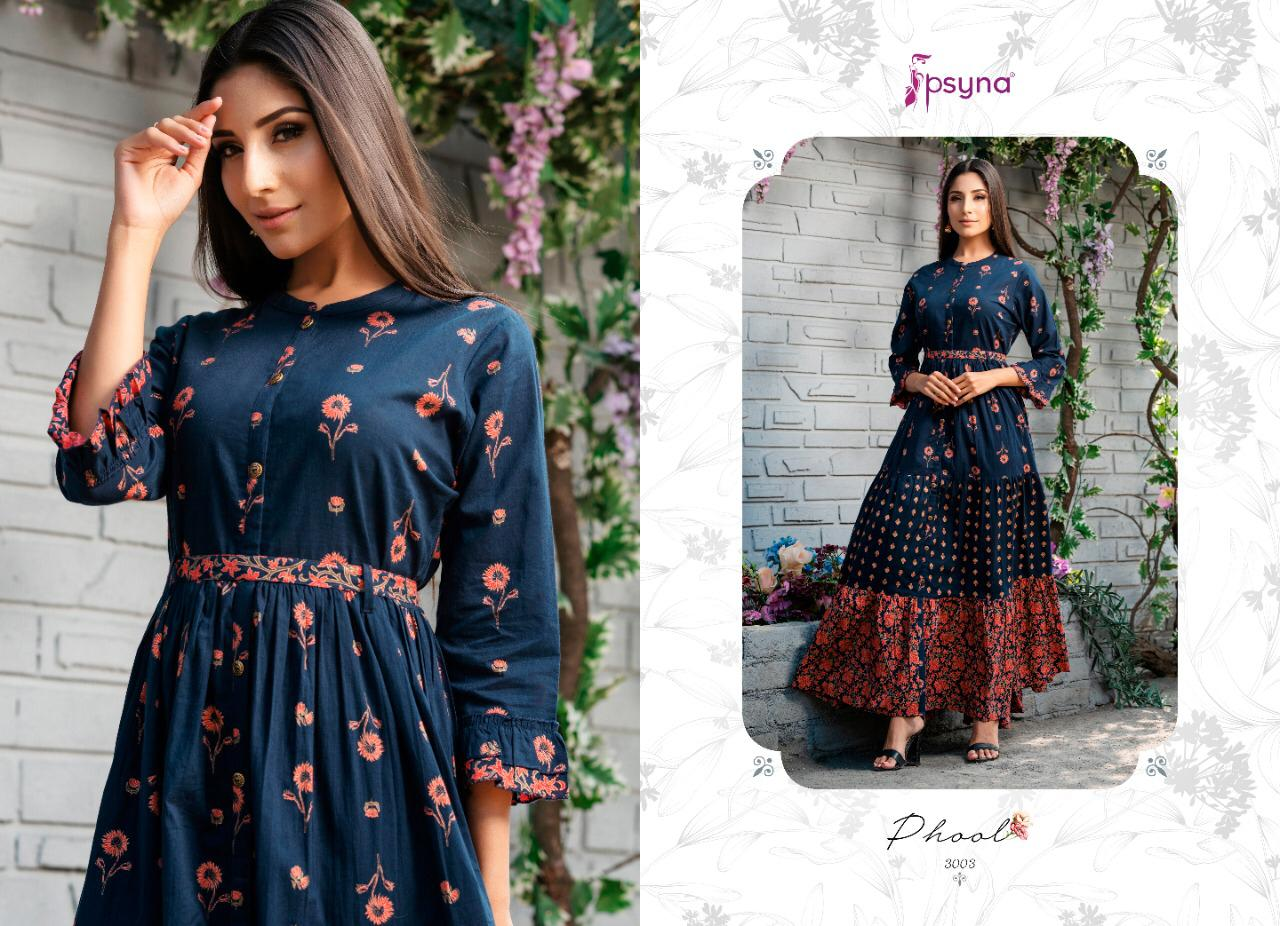 Psyna Phool Vol 3 Kurti Wholesale Catalog 7 Pcs 8 - Psyna Phool Vol 3 Kurti Wholesale Catalog 7 Pcs
