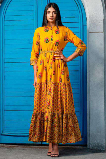 Psyna Phool Vol 3 Kurti Wholesale Catalog 7 Pcs