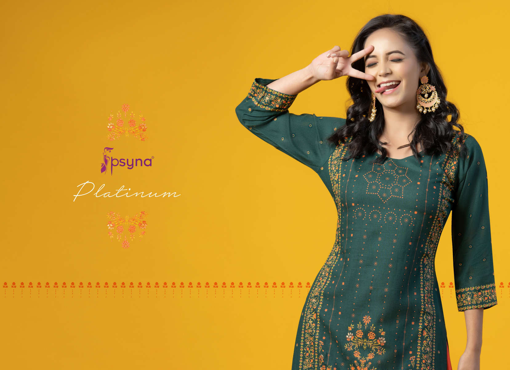 Psyna Platinum Vol 2 Kurti Wholesale Catalog 10 Pcs 1 - Psyna Platinum Vol 2 Kurti Wholesale Catalog 10 Pcs
