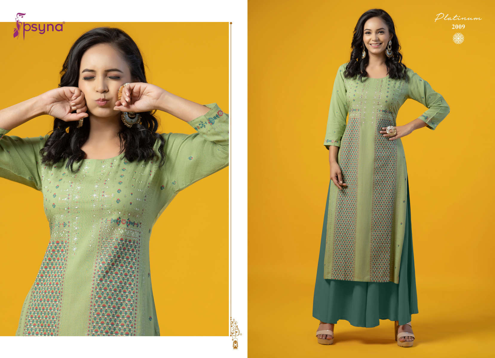 Psyna Platinum Vol 2 Kurti Wholesale Catalog 10 Pcs 11 - Psyna Platinum Vol 2 Kurti Wholesale Catalog 10 Pcs