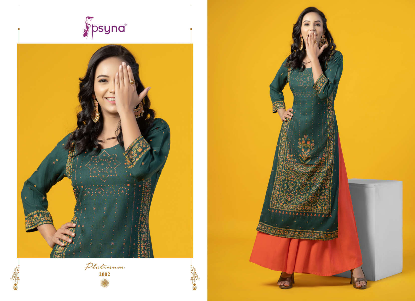Psyna Platinum Vol 2 Kurti Wholesale Catalog 10 Pcs 3 - Psyna Platinum Vol 2 Kurti Wholesale Catalog 10 Pcs