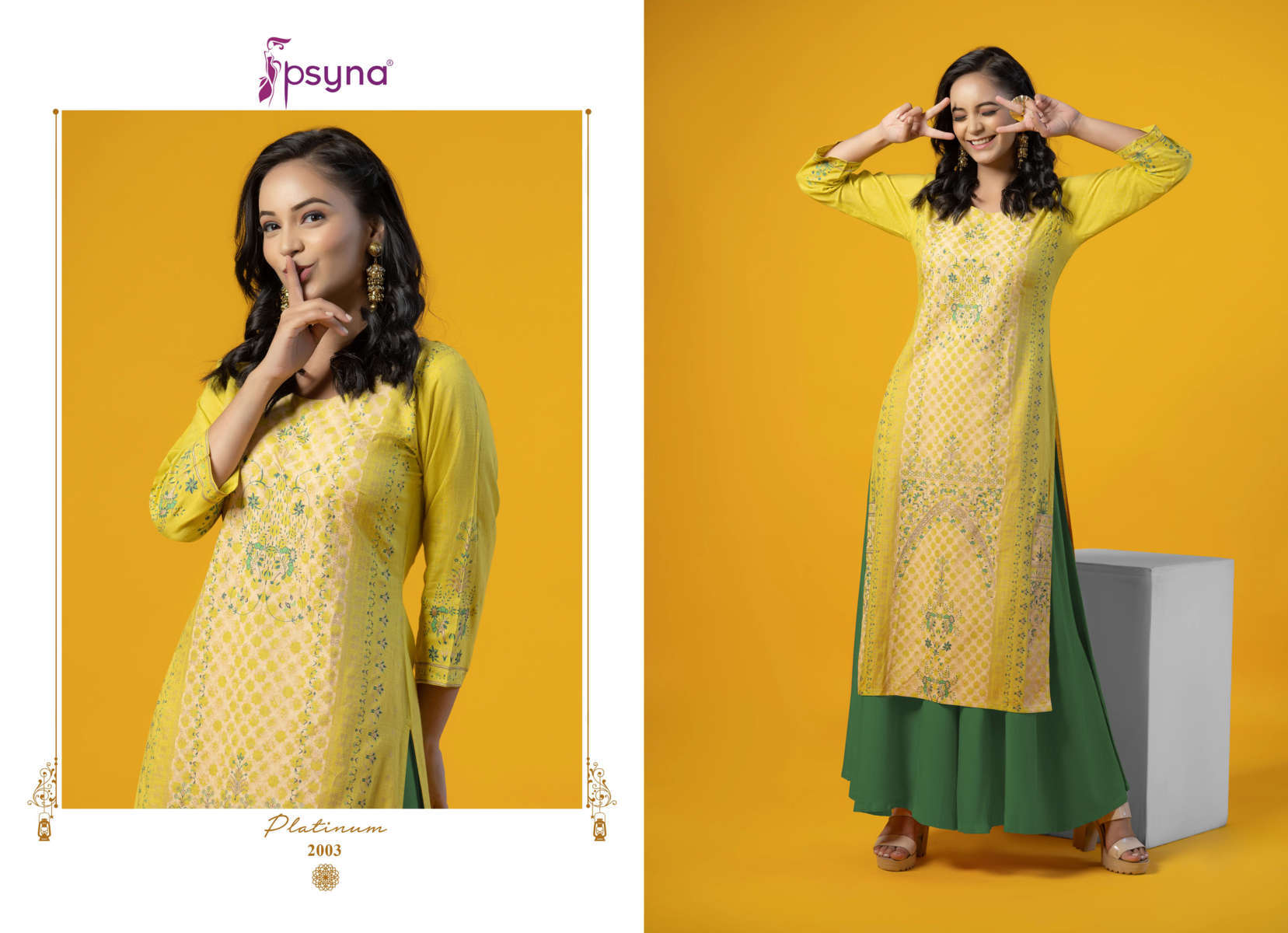 Psyna Platinum Vol 2 Kurti Wholesale Catalog 10 Pcs 4 - Psyna Platinum Vol 2 Kurti Wholesale Catalog 10 Pcs