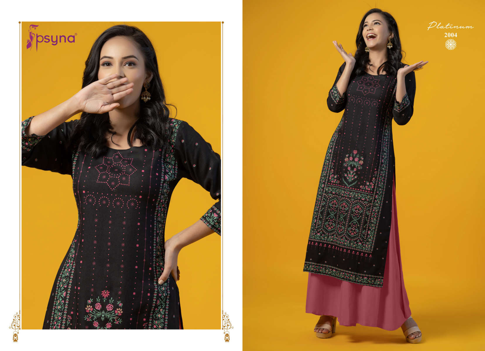 Psyna Platinum Vol 2 Kurti Wholesale Catalog 10 Pcs 5 - Psyna Platinum Vol 2 Kurti Wholesale Catalog 10 Pcs
