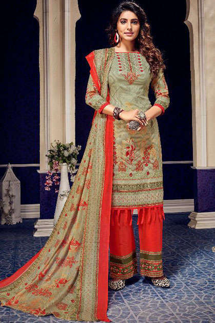 Rawayat Luxury Lawn Collection Vol 7 Salwar Suit Wholesale Catalog 10 Pcs
