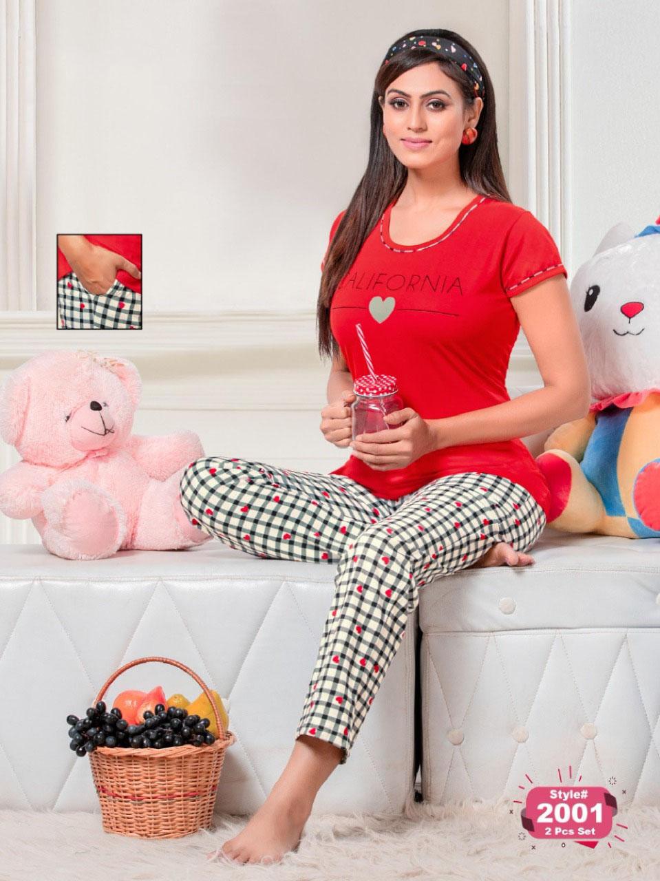 SF Premium Night Wear Vol 57 Wholesale Catalog 6 Pcs 3 1 - SF Premium Night Wear Vol 57 Wholesale Catalog 6 Pcs