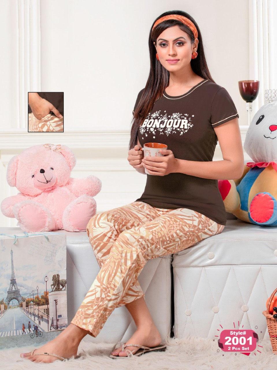 SF Premium Night Wear Vol 58 Wholesale Catalog 6 Pcs 5 1 - SF Premium Night Wear Vol 58 Wholesale Catalog 6 Pcs
