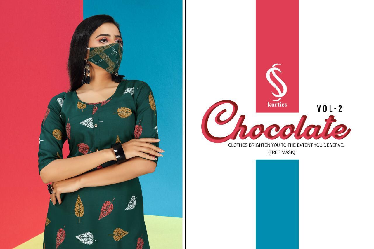 SS Chocolate Vol 2 Kurti with Palazzo Wholesale Catalog 6 Pcs 1 - SS Chocolate Vol 2 Kurti with Palazzo Wholesale Catalog 6 Pcs