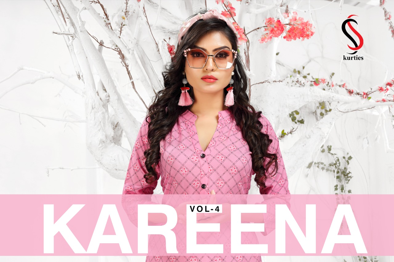 SS Kareena Vol 4 Kurti Wholesale Catalog 10 Pcs 1 - SS Kareena Vol 4 Kurti Wholesale Catalog 10 Pcs