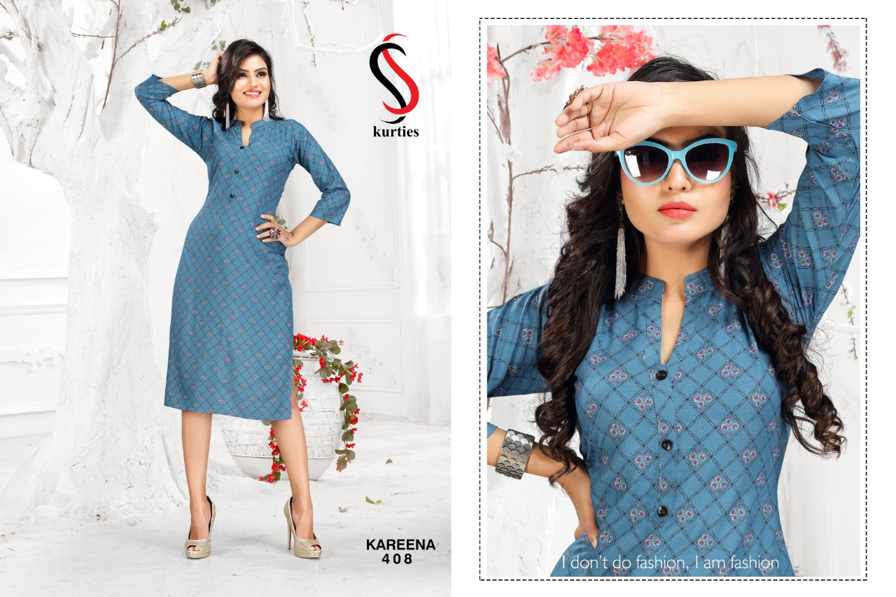SS Kareena Vol 4 Kurti Wholesale Catalog 10 Pcs 11 - SS Kareena Vol 4 Kurti Wholesale Catalog 10 Pcs