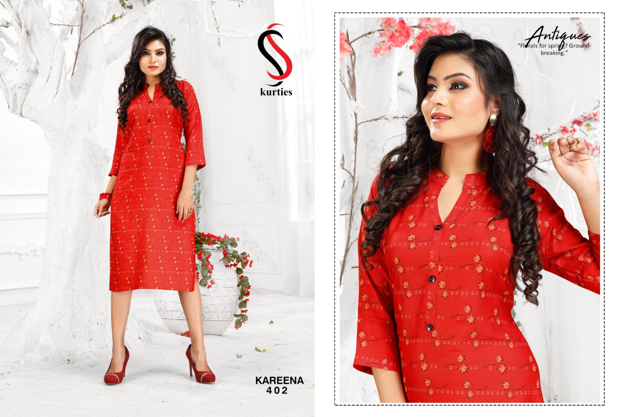 SS Kareena Vol 4 Kurti Wholesale Catalog 10 Pcs 2 - SS Kareena Vol 4 Kurti Wholesale Catalog 10 Pcs