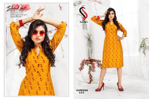 SS Kareena Vol 4 Kurti Wholesale Catalog 10 Pcs 3 510x340 - SS Kareena Vol 4 Kurti Wholesale Catalog 10 Pcs