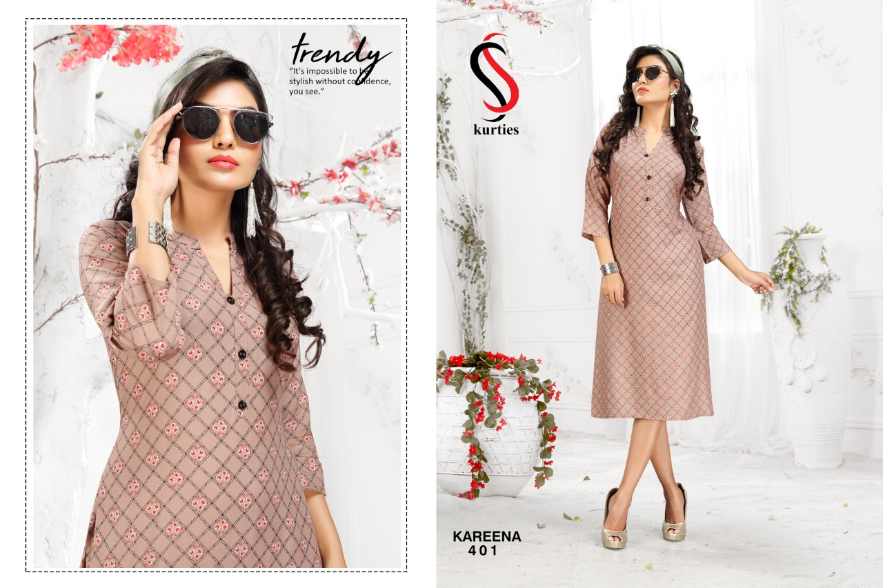 SS Kareena Vol 4 Kurti Wholesale Catalog 10 Pcs 4 - SS Kareena Vol 4 Kurti Wholesale Catalog 10 Pcs