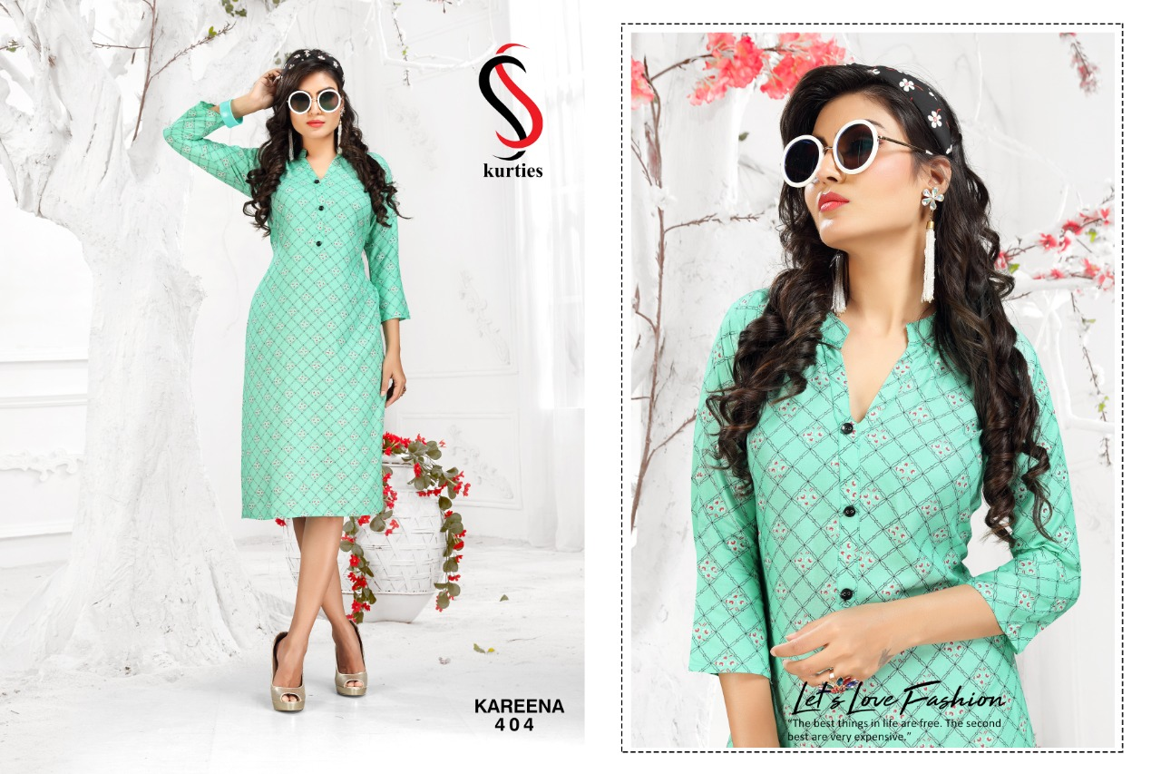 SS Kareena Vol 4 Kurti Wholesale Catalog 10 Pcs 5 - SS Kareena Vol 4 Kurti Wholesale Catalog 10 Pcs