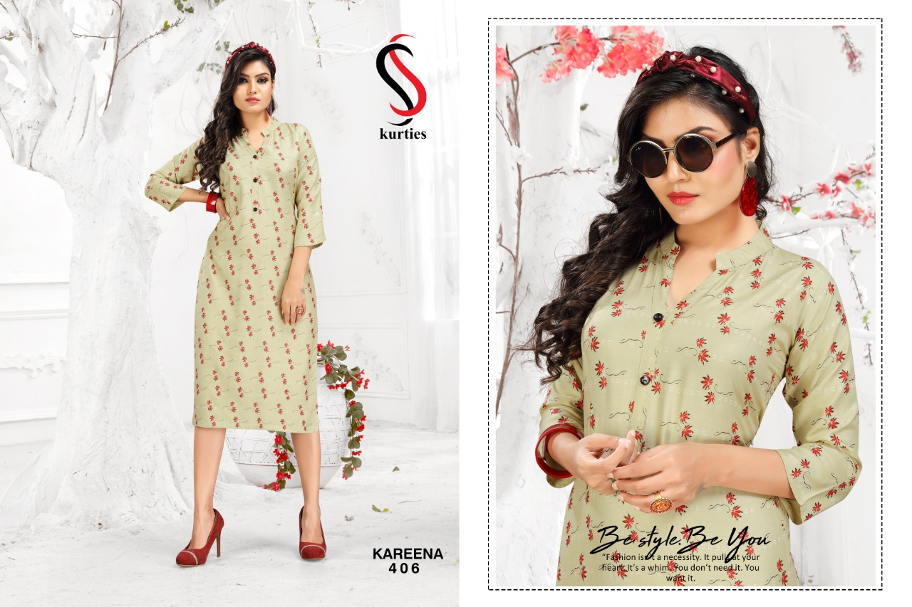 SS Kareena Vol 4 Kurti Wholesale Catalog 10 Pcs 6 - SS Kareena Vol 4 Kurti Wholesale Catalog 10 Pcs