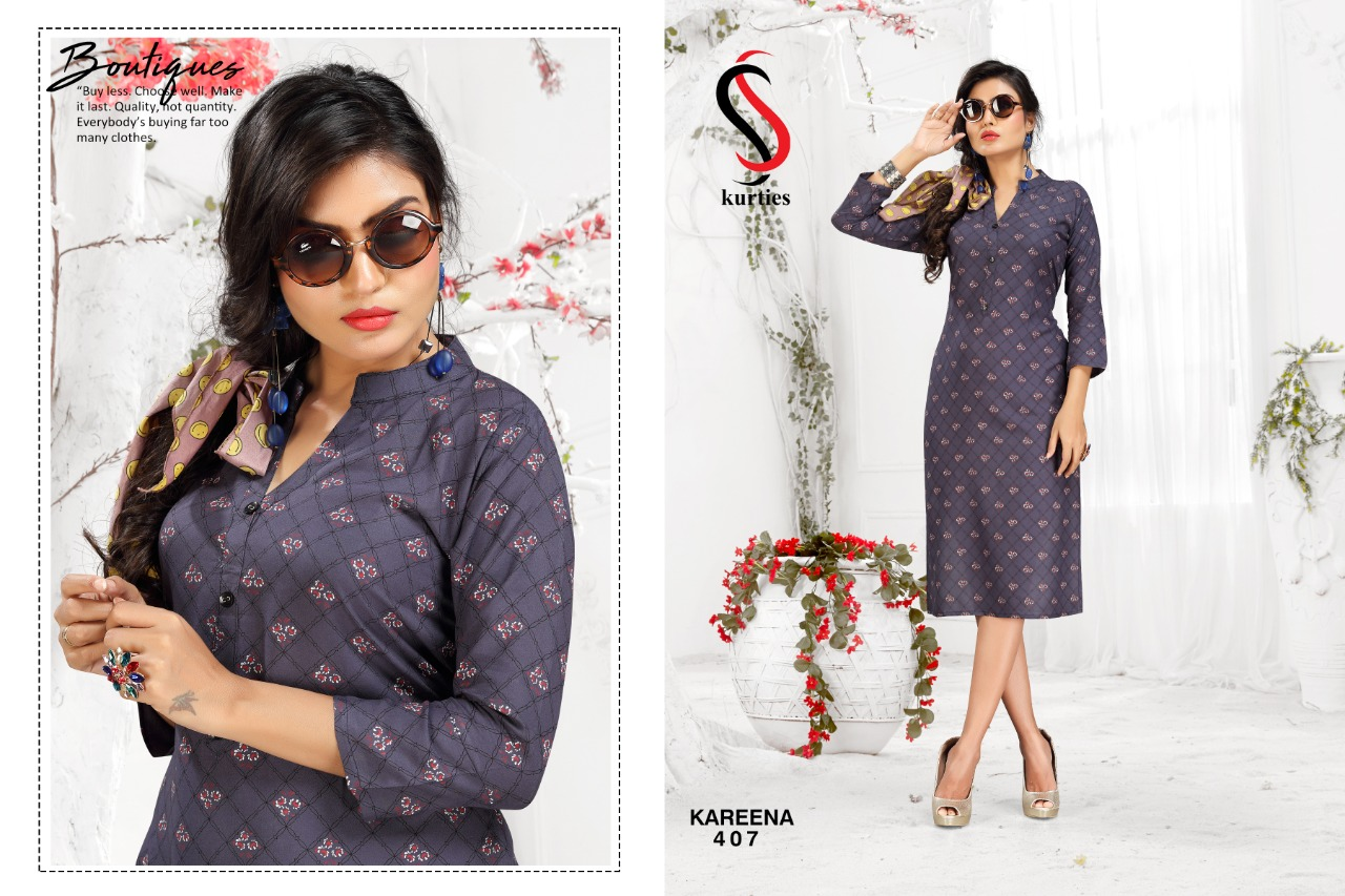 SS Kareena Vol 4 Kurti Wholesale Catalog 10 Pcs 7 - SS Kareena Vol 4 Kurti Wholesale Catalog 10 Pcs