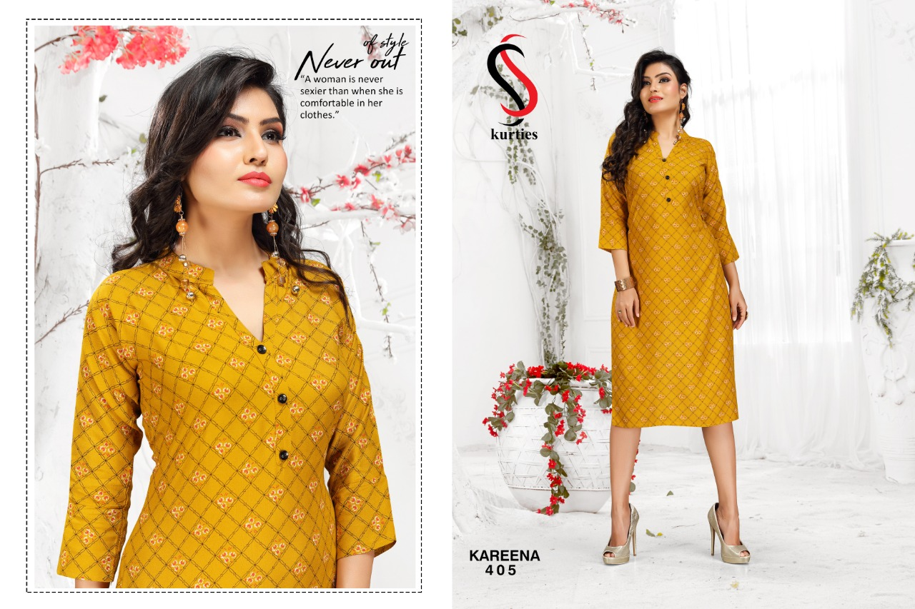 SS Kareena Vol 4 Kurti Wholesale Catalog 10 Pcs 8 - SS Kareena Vol 4 Kurti Wholesale Catalog 10 Pcs