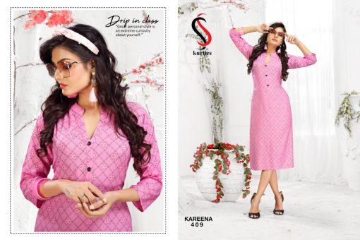 SS Kareena Vol 4 Kurti Wholesale Catalog 10 Pcs 9 510x340 - SS Kareena Vol 4 Kurti Wholesale Catalog 10 Pcs