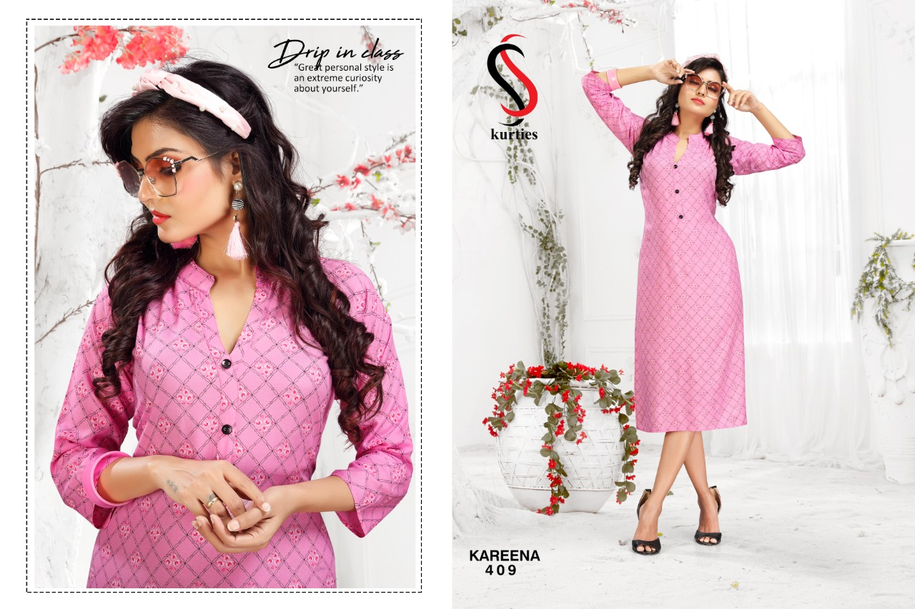 SS Kareena Vol 4 Kurti Wholesale Catalog 10 Pcs 9 - SS Kareena Vol 4 Kurti Wholesale Catalog 10 Pcs