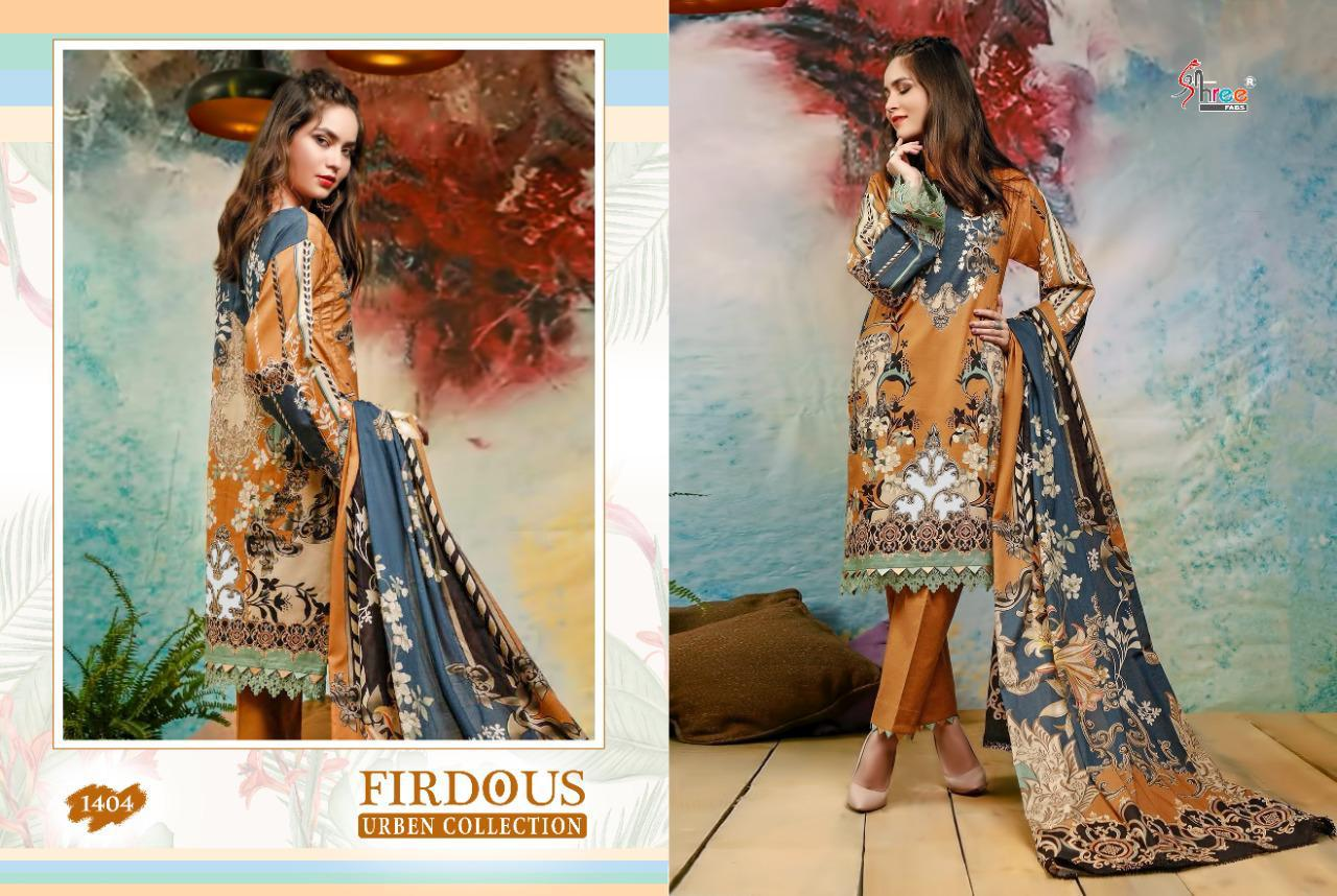 Shree Fabs Firdous Urben Collection Salwar Suit Wholesale Catalog 10 Pcs 2 - Shree Fabs Firdous Urben Collection Salwar Suit Wholesale Catalog 10 Pcs