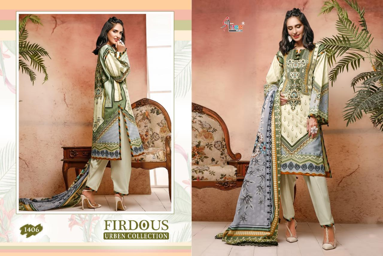 Shree Fabs Firdous Urben Collection Salwar Suit Wholesale Catalog 10 Pcs 4 - Shree Fabs Firdous Urben Collection Salwar Suit Wholesale Catalog 10 Pcs