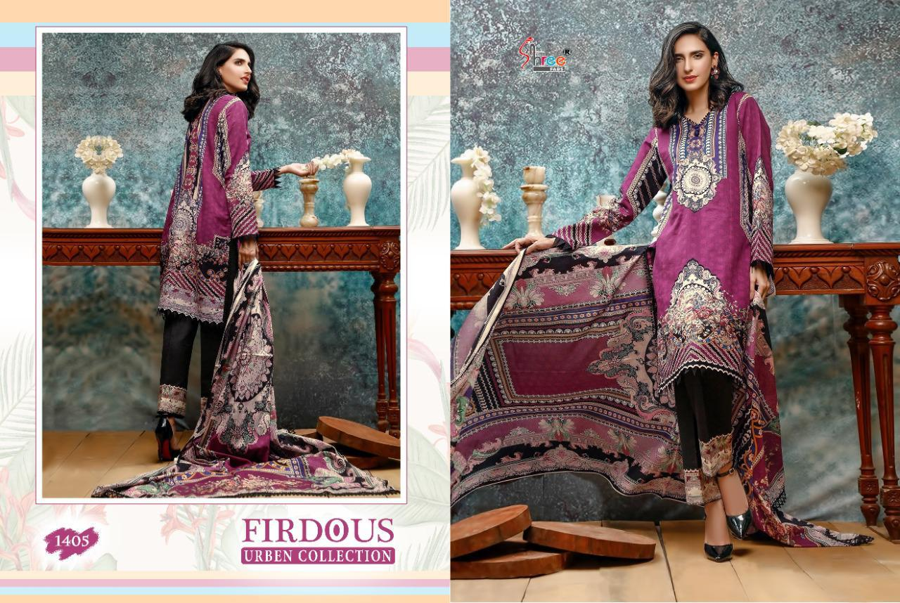 Shree Fabs Firdous Urben Collection Salwar Suit Wholesale Catalog 10 Pcs 7 - Shree Fabs Firdous Urben Collection Salwar Suit Wholesale Catalog 10 Pcs