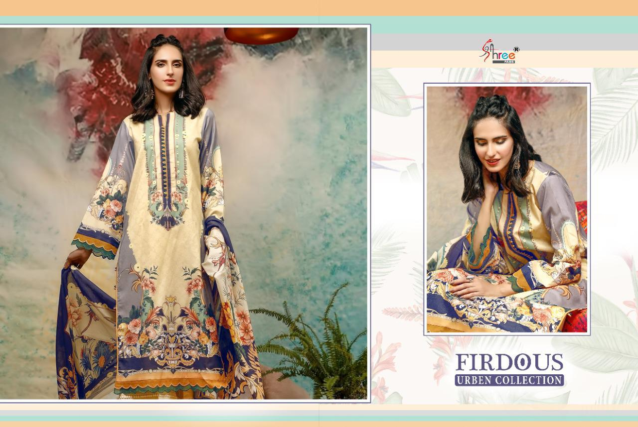 Shree Fabs Firdous Urben Collection Salwar Suit Wholesale Catalog 10 Pcs 8 - Shree Fabs Firdous Urben Collection Salwar Suit Wholesale Catalog 10 Pcs
