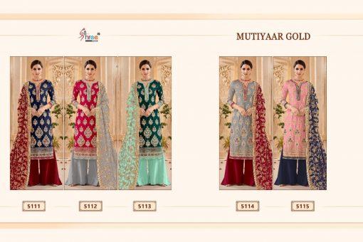 Shree Fabs Mutiyaar Gold Salwar Suit Wholesale Catalog 5 Pcs 8 510x340 - Shree Fabs Mutiyaar Gold Salwar Suit Wholesale Catalog 5 Pcs
