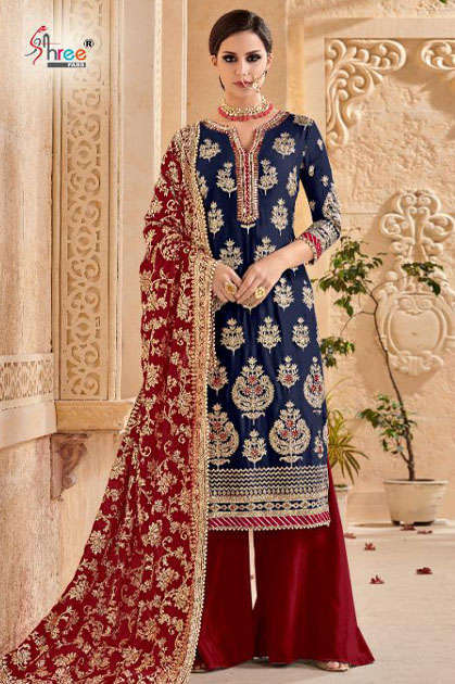 Shree Fabs Mutiyaar Gold Salwar Suit Wholesale Catalog 5 Pcs - Shree Fabs Mutiyaar Gold Salwar Suit Wholesale Catalog 5 Pcs