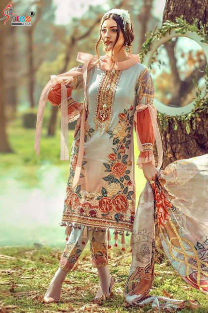 Shree Fabs Rang Rasiya Digital Lawn Collection Vol 3 Salwar Suit Wholesale Catalog 7 Pcs - Shree Fabs Rang Rasiya Digital Lawn Collection Vol 3 Salwar Suit Wholesale Catalog 7 Pcs