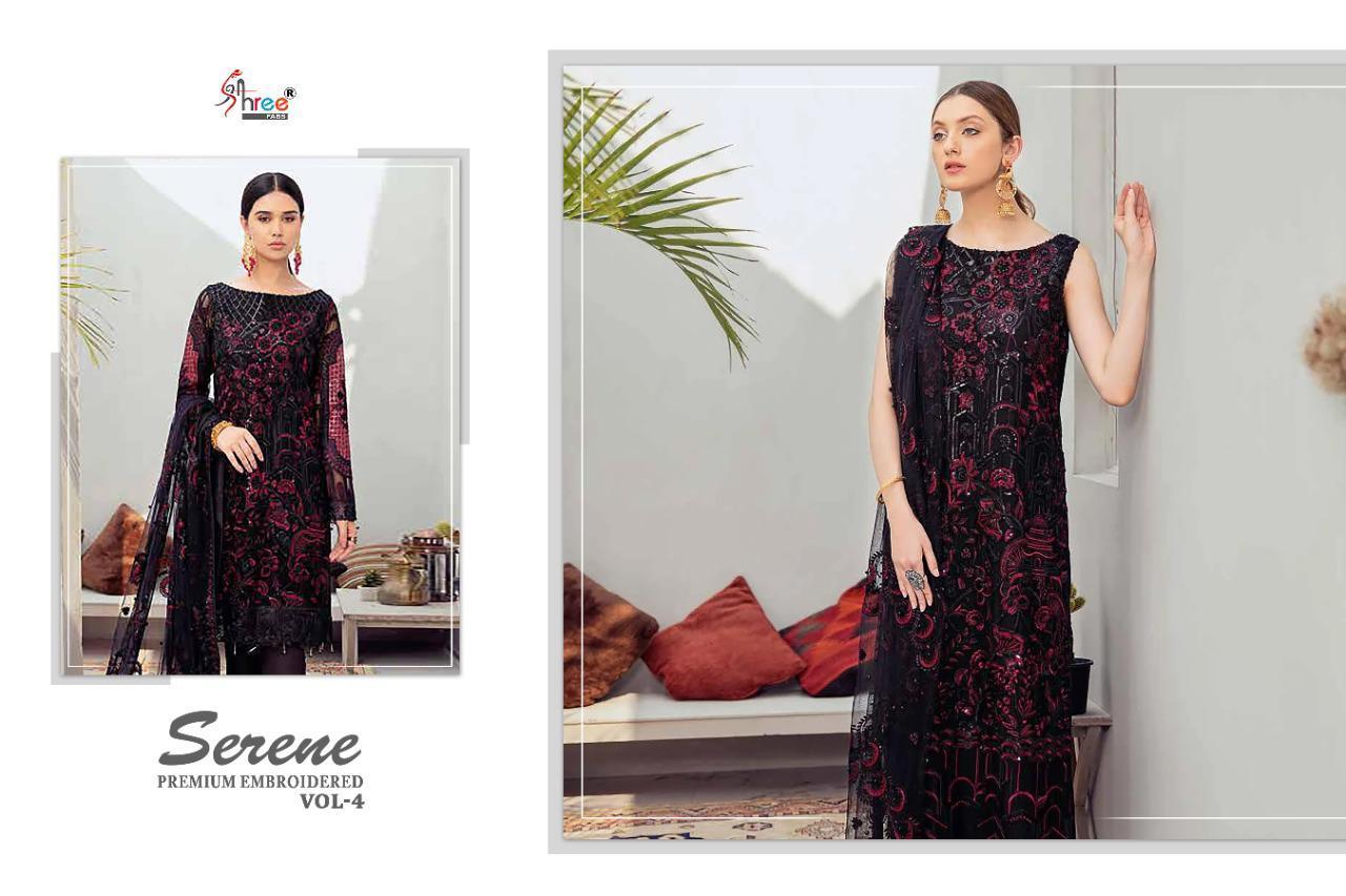 Shree Fabs Serene Premium Embroiderd Vol 4 Salwar Suit Wholesale Catalog 6 Pcs 1 - Shree Fabs Serene Premium Embroiderd Vol 4 Salwar Suit Wholesale Catalog 6 Pcs
