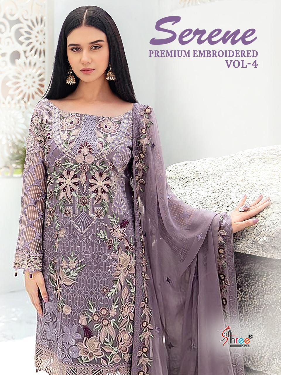 Shree Fabs Serene Premium Embroiderd Vol 4 Salwar Suit Wholesale Catalog 6 Pcs 4 - Shree Fabs Serene Premium Embroiderd Vol 4 Salwar Suit Wholesale Catalog 6 Pcs
