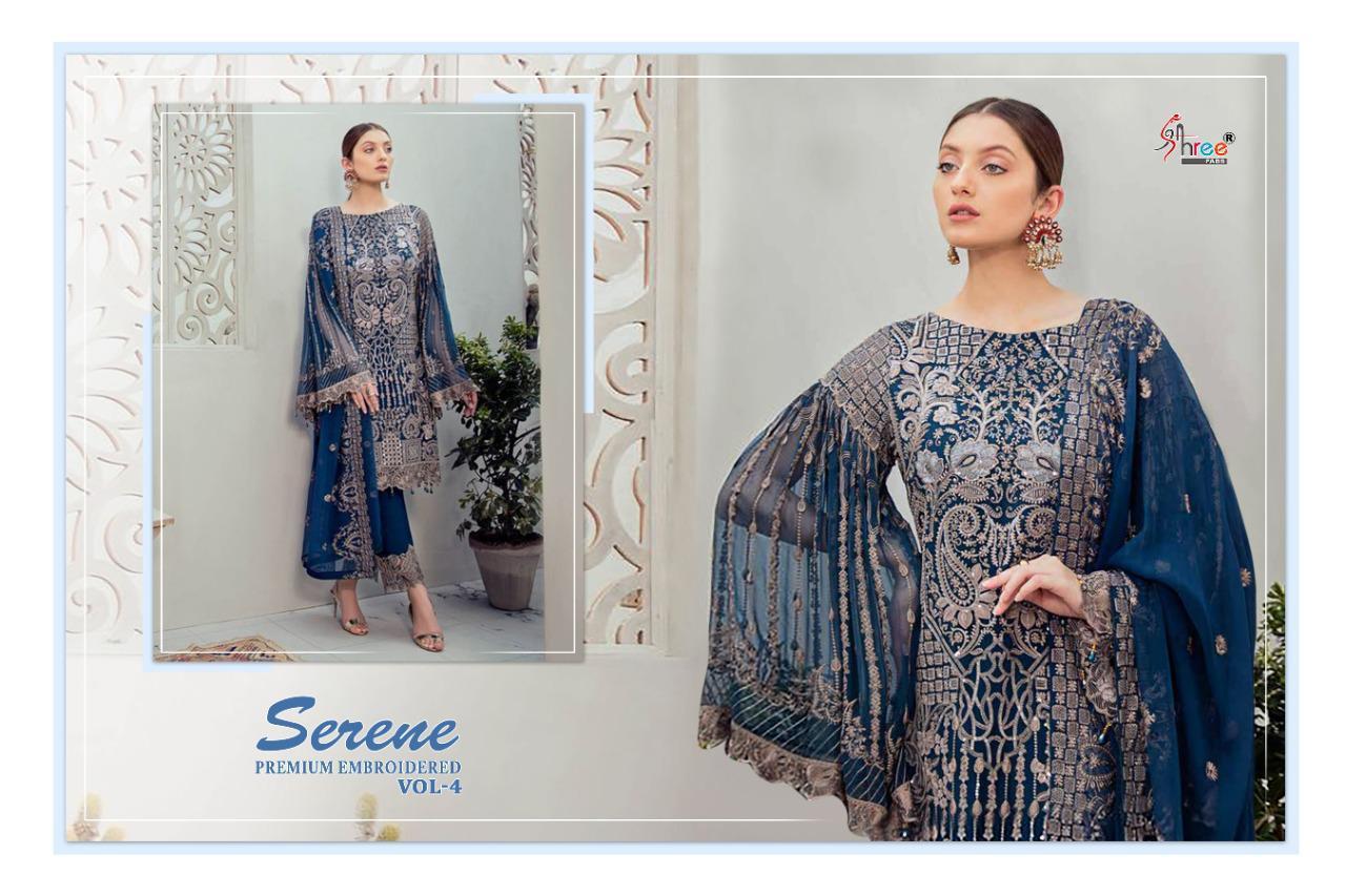 Shree Fabs Serene Premium Embroiderd Vol 4 Salwar Suit Wholesale Catalog 6 Pcs 6 - Shree Fabs Serene Premium Embroiderd Vol 4 Salwar Suit Wholesale Catalog 6 Pcs