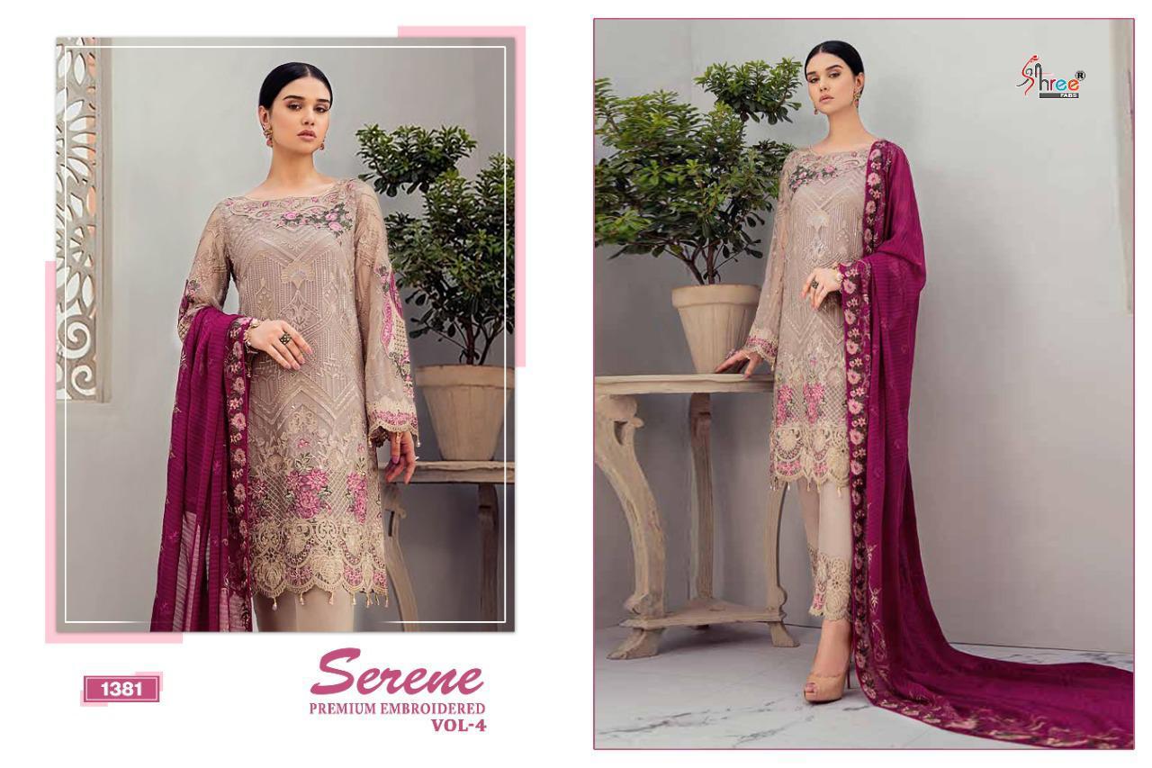 Shree Fabs Serene Premium Embroiderd Vol 4 Salwar Suit Wholesale Catalog 6 Pcs 8 - Shree Fabs Serene Premium Embroiderd Vol 4 Salwar Suit Wholesale Catalog 6 Pcs
