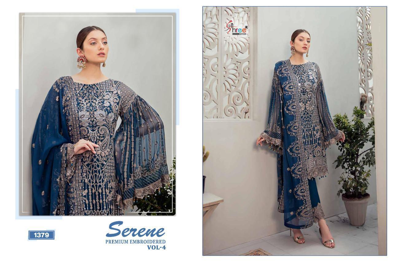 Shree Fabs Serene Premium Embroiderd Vol 4 Salwar Suit Wholesale Catalog 6 Pcs 9 - Shree Fabs Serene Premium Embroiderd Vol 4 Salwar Suit Wholesale Catalog 6 Pcs
