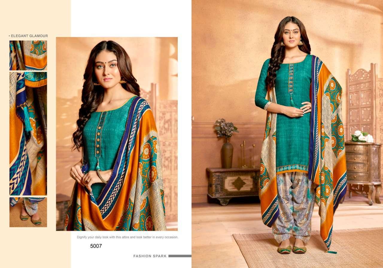 Sweety Resham Vol 5 Pashmina Salwar Suit Wholesale Catalog 8 Pcs 1 - Sweety Resham Vol 5 Pashmina Salwar Suit Wholesale Catalog 8 Pcs