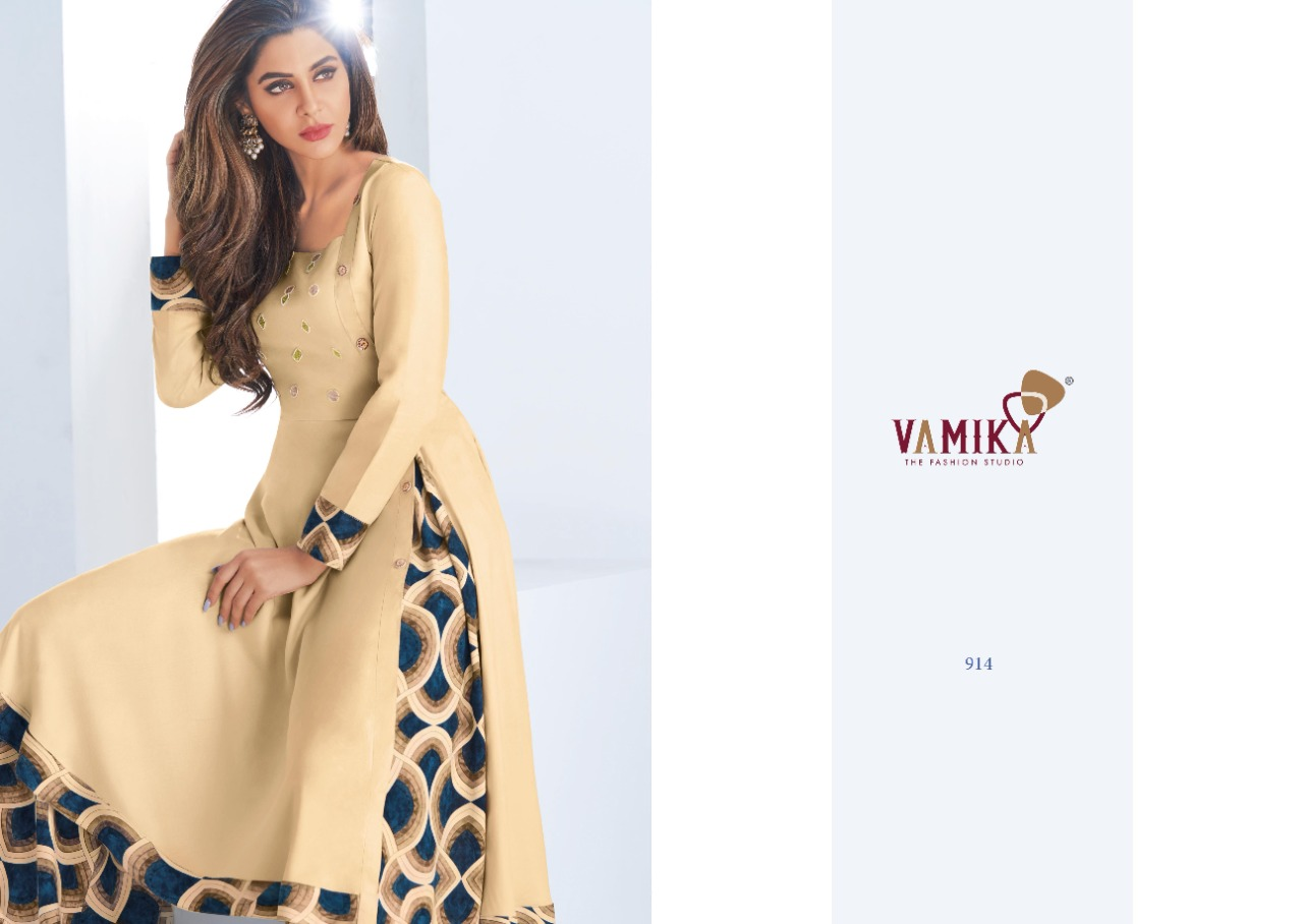 Vamika Plazo Vol 3 Kurti with Palazzo Wholesale Catalog 7 Pcs 3 - Vamika Plazo Vol 3 Kurti with Palazzo Wholesale Catalog 7 Pcs