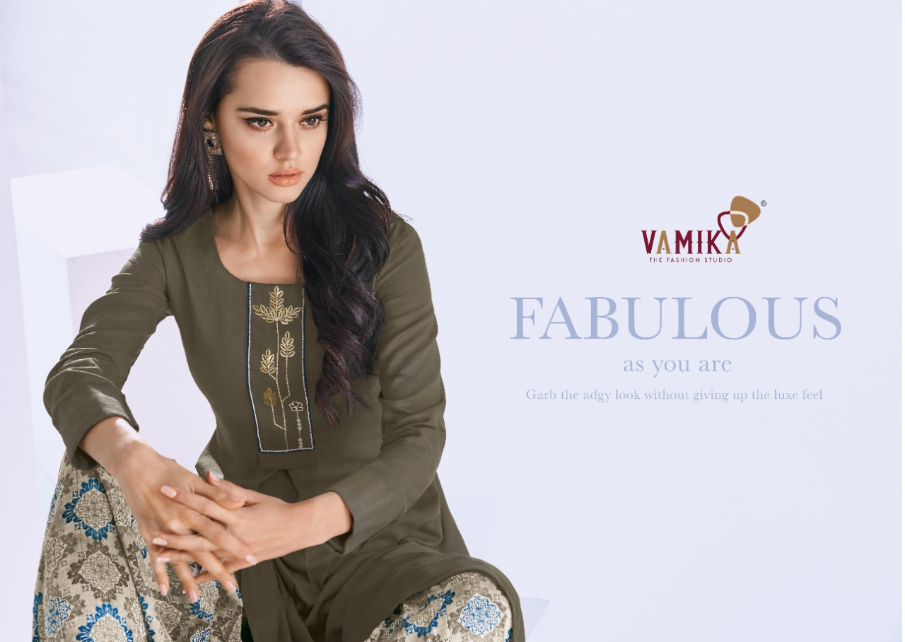 Vamika Plazo Vol 3 Kurti with Palazzo Wholesale Catalog 7 Pcs 4 - Vamika Plazo Vol 3 Kurti with Palazzo Wholesale Catalog 7 Pcs