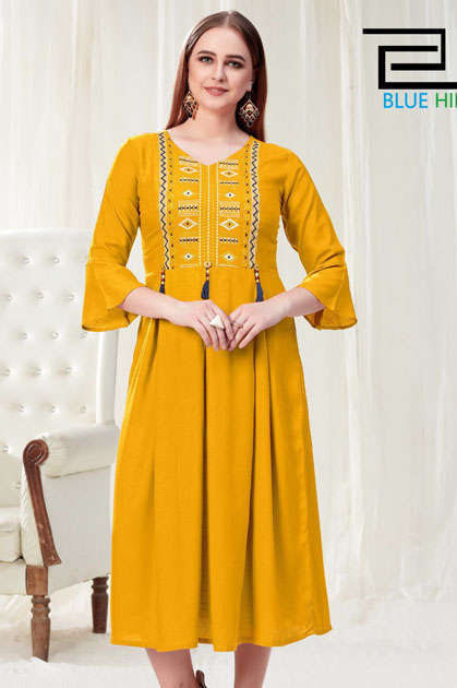 Vee Fab Vegas Kurti Wholesale Catalog 8 Pcs
